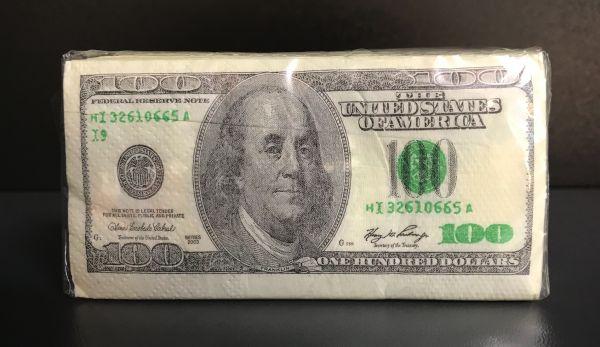 100$ Nastuch