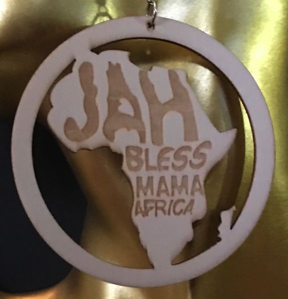Ohrring Jah Bless Mama Africa