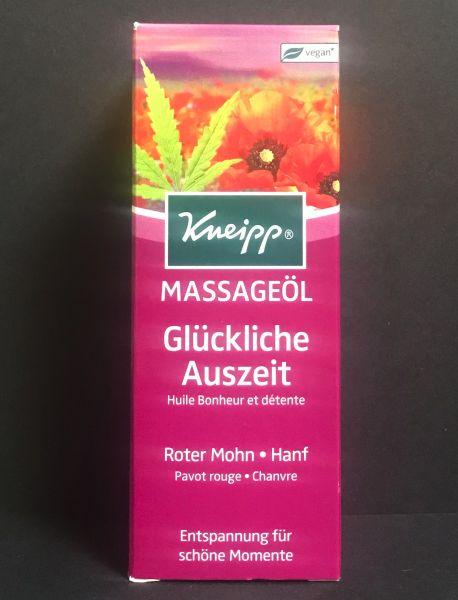 Kneipp Massageöl Glückliche Auszeit