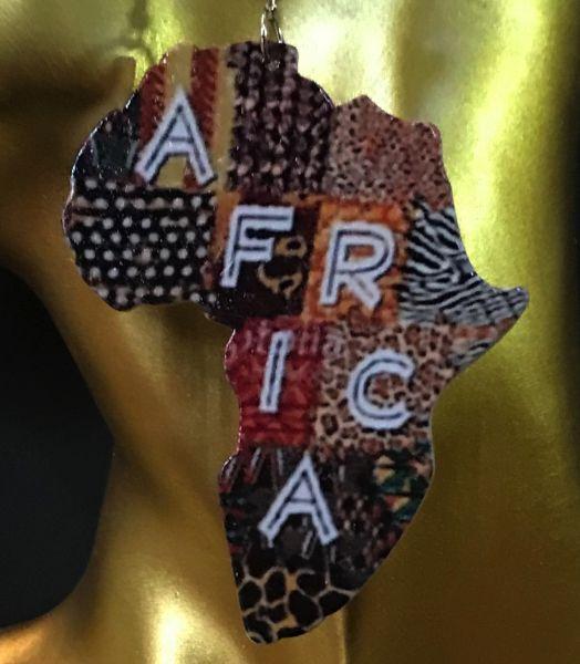 Africa Ohrring