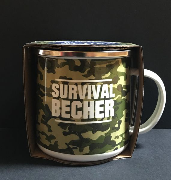Emaillebecher Survival