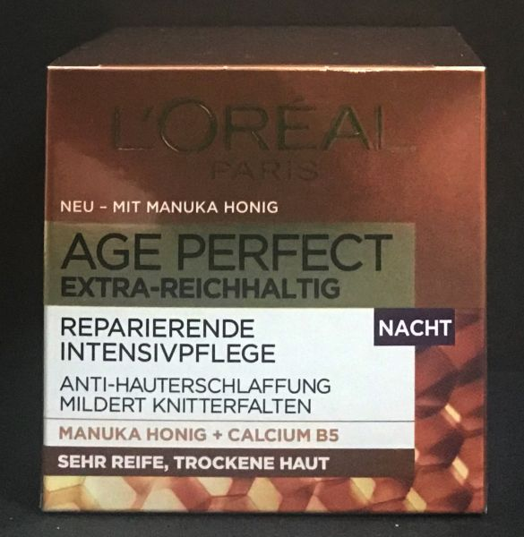 L'Oréal Age Perfect Manuka Nachtcreme