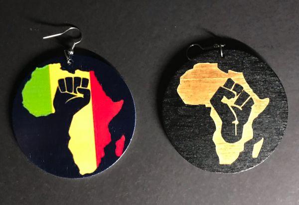 Ohrring Afrika Power Black Live Matter