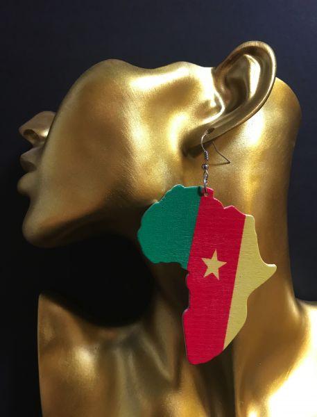 Ohrring Kamerun