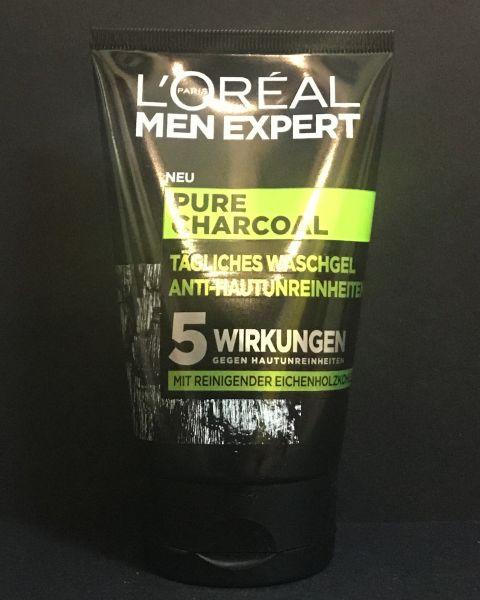 Men Expert Pure Charcoal - Waschgel