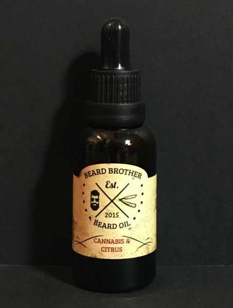 Beard Brother Cannabis Beard Oil, 30ml