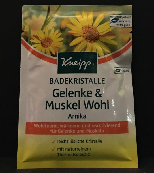 Badekristalle Gelenke & Muskel Wohl