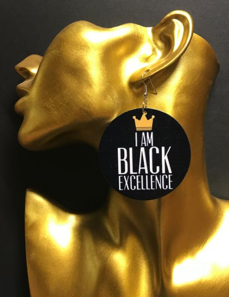 Ohrring Excellence Black