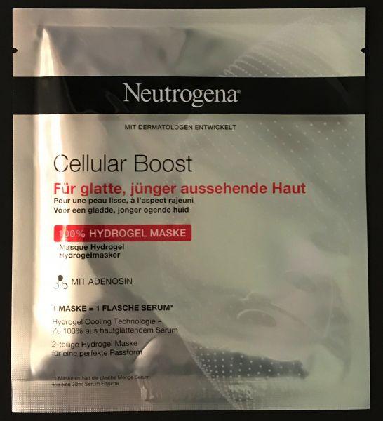 Cellular Boost Hydrogel Maske