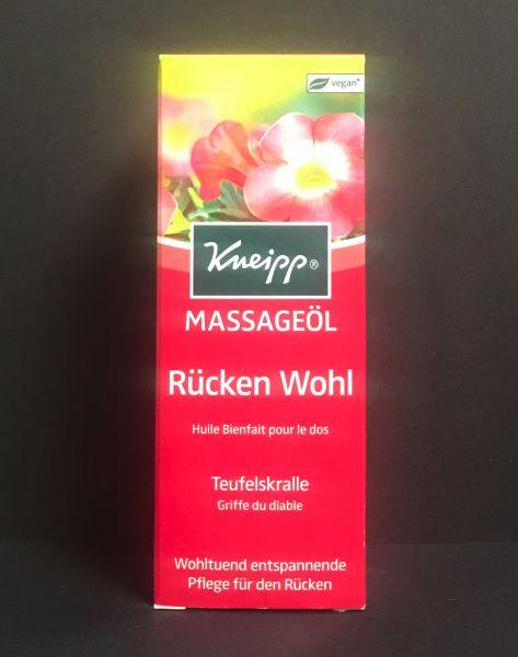 Massageöl Rücken Wohl