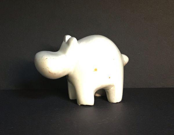"""Stein Nilpferd """"Hippo"""""""