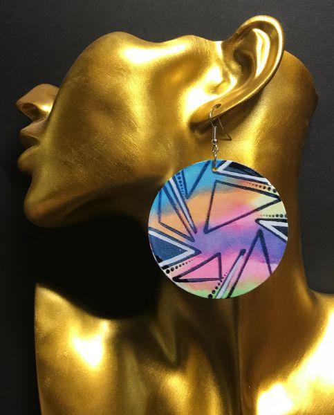 Ohrring Dreiecke