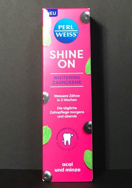 PERLWEISS® Shine On Acai und Minze 75ml