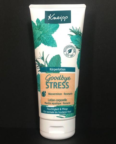 Körperlotion Goodbye Stress