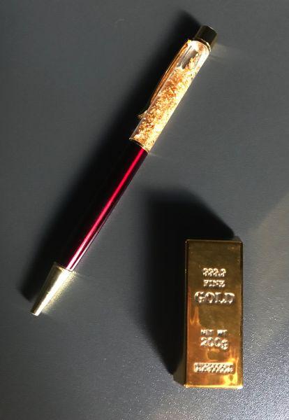 Goldbarren Magnet