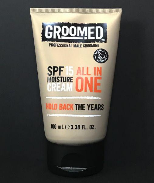Groomed Moisture Cream 100ml LSF 15