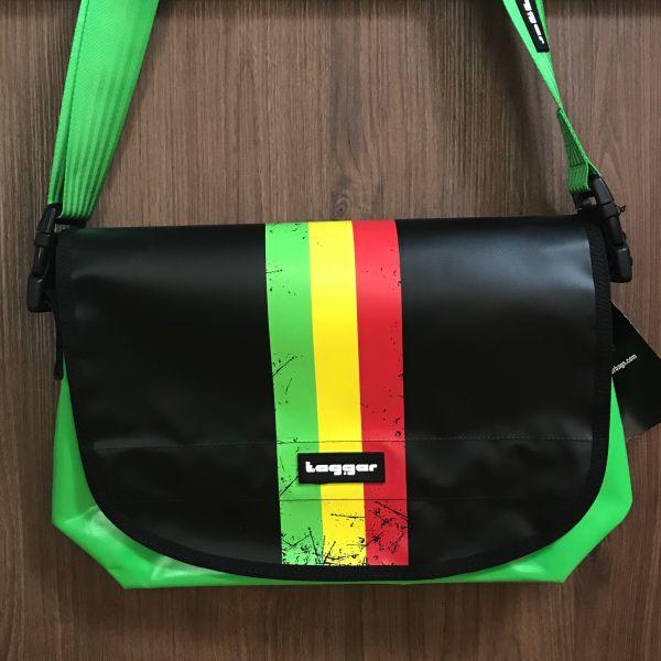 Rastafari Tagger Tasche gross
