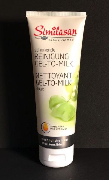 Reinigung Gel-To-Milk