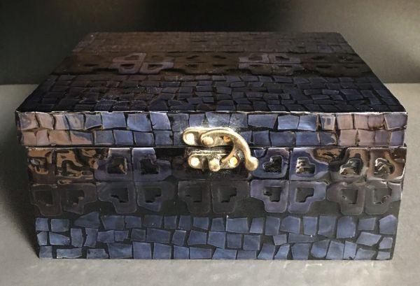 Lawrence Grey Aufbewahrungsbox blau