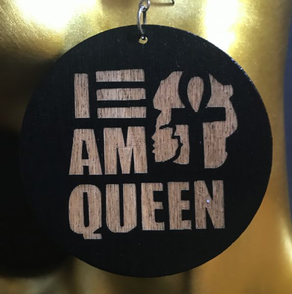 Ohrring I am Queen