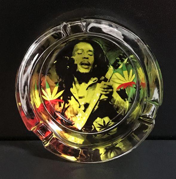 Aschenbecher Marley mit Gitarre