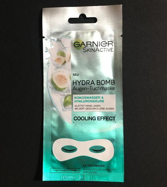 Hydra Bomb Augen-Tuchmaske Kokoswasser & Hyaluronsäure